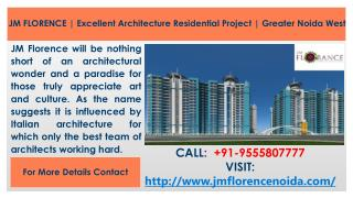 JM Florence As Best Architecture Residential Flats