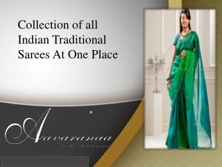 Fashion Sarees Online Shopping India |Aavaranaa