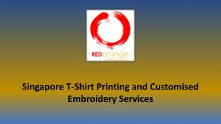 Customised polo tee Singapore