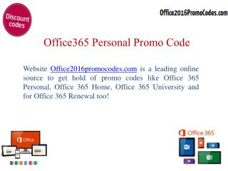 Leading online source of Office 365 personal promo code
