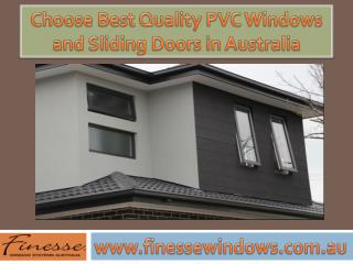 Find the Best Quality PVC Windows and Sliding Doors in Melbourne