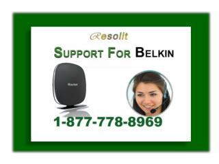 Call for (1-877-778-8969) Belkin Router Technical Support Phone Number
