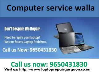 Get Reliable & Affordable Laptop Service In Wazirabad Gurgaon