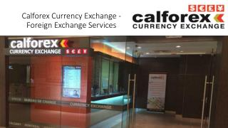 Calforex exchange rates toronto