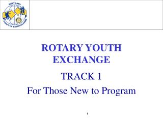 ROTARY YOUTH EXCHANGE
