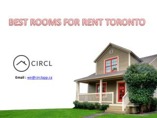 Best Rooms for Rent Toronto