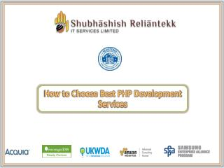 PHP Application Development | PHP Development Services - SRTITSL