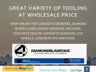 Great Variety of Tooling at Wholesale Prices