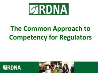 The Common Approach to Competency for Regulators