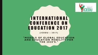 international conference education