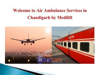 Presentation for Air Ambulance Services in Chandigarh and Darbhanga