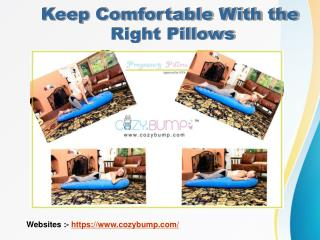 Maternity Support Pillows - Full Size Pregnancy Support Pillow
