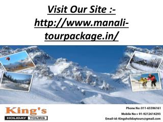 kings holiday tours in Delhi