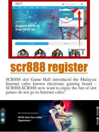 SCR888 Login