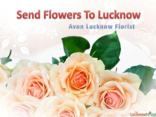 Send Flowers to Lucknow with Avon Lucknow Florist