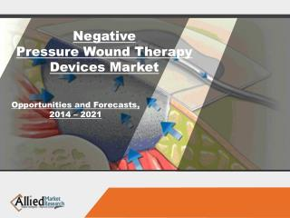 Negative Pressure Wound Therapy Devices Market Size & Share, 2022