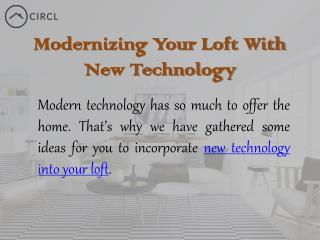 Find New Modern Lofts for Rent - CIRCL