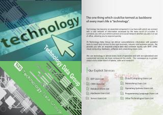 Top Technology Users Mailing List |