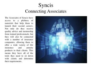 Syncis - Connecting Associates