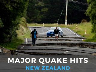 Major quake hits New Zealand