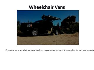 Mobility Equipment
