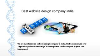 Best website design company india