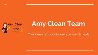 Amy Clean Team in London