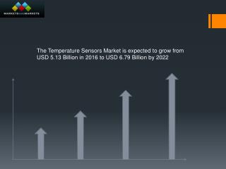According to this new research The temperature sensors market is expected to grow from USD 5.13 Billion in 2016 to USD 6