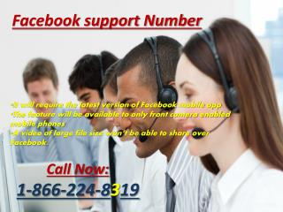 Facebook Technical Support Number @1-866-224-8319