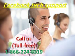 Contact us for Facebook Technical Support? Dial at 1-866-224-8319