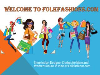 FolkFashions Womens Designer Party Wear Sarees Online in India