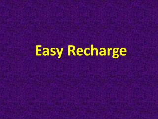 Easy Mobile Recharge Discounts Offers