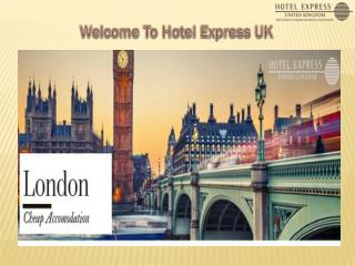 Get Best Hotel Deals From Hotel Express UK