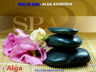 Spas in Goa- Alga Ayurveda
