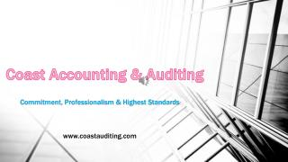 Best Accounting & Audit Firm in Dubai - Coast Accounting & Audit
