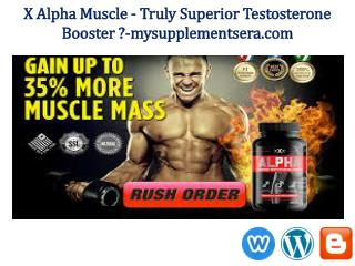 X Alpha Muscle Free Trial Pack @ http://www.mysupplementsera.com/x-alpha-muscle/