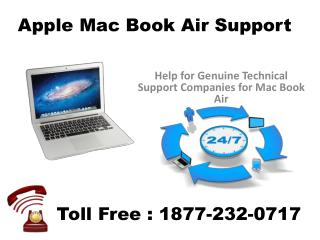 1877 232 0717 Apple Macbook Air Technical Support Phone Number