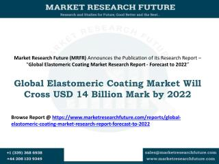 Elastomeric Coating Market, Elastomeric Coating Market Size, Elastomeric Coating Market Research, Elastomeric Coating Ma