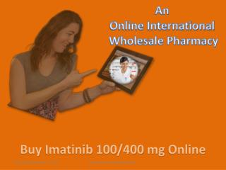 buy Imatinib 400 mg Capsule | buy Imatinib 100 mg Tablet