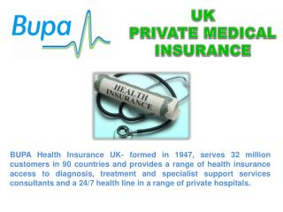 Uk Private Medical Insurance