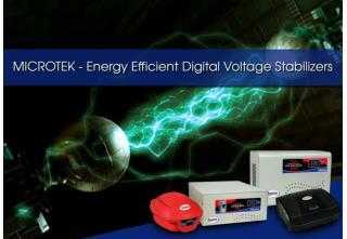 Microtek - Energy Efficient Digital Voltage Stabilizers