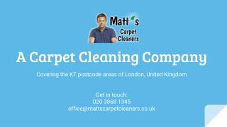 Matt's Carpet Cleaners in London