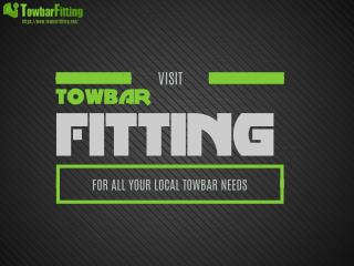 We Are Towbar Fitting