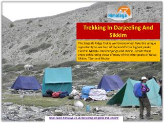 Trekking In Darjeeling And Sikkim