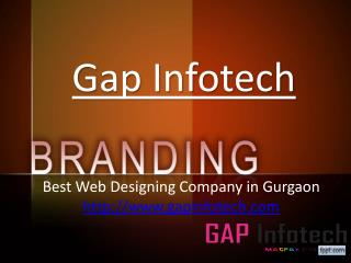 Maintain Your Business's Brand With Competitive Edge At Web Designing Company In Gurgaon