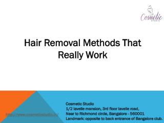 Laser hair Removal treatment parmanent