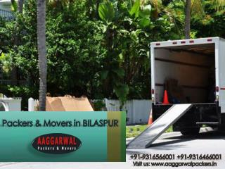 Call For Packers & Movers in Bilaspur To Shift Easily