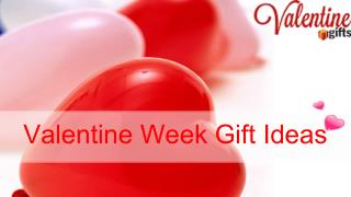 Valentine Week Gift Ideas (Day Wise)