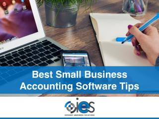 Best Small Business Accounting Software Tips