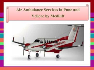 Presentation for air Ambulance services in Pune and Vellore